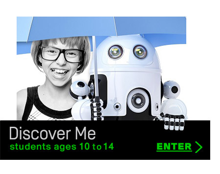 MyCareerMatch Discover Me Personality Quiz and self-discovery tool for younger students